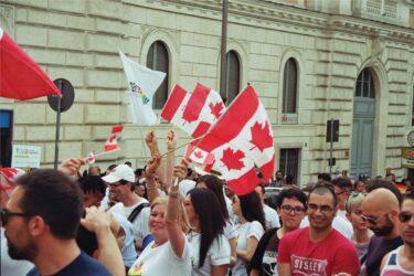 Canadian culture flag