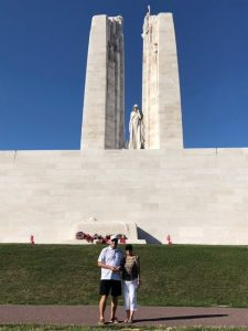 remberance day vimy memorial Canadian culture