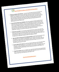 Post Pandemic Checklist